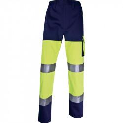 Pantalon de Travail Haute Visibilité Panostyle DELTAPLUS en coton / polyester