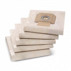 Paquet de 5 Filtres en papier KARCHER 6.904-285.0 pour NT 65/2