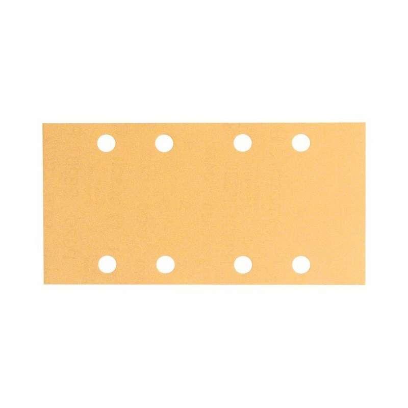 Feuilles abrasives C470 BOSCH pour ponceuses vibrantes 93 x 186 mm Best for Wood and Paint 8 trous