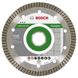 Disque diamant BOSCH Pro 2608602479 Ø 125 mm Best Ceramic Extraclean Turbo