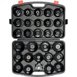 Coffret de clés cloche pour filtre à huile 30 pièces NEO TOOLS 11-236