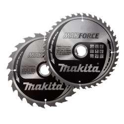 Jeu de 2 lames MAKITA B-49339 MAKFORCE Ø 235mm pour scie circulaire 5903R