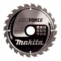 Lame carbure MAKITA B-08355 MakForce Ø 190mm pour bois et pour scies circulaires