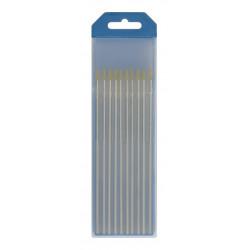 lot de 10 électrodes lanthane WL15 GYS