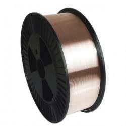 Fil plein acier 15 kg bobine plastique GYS