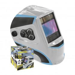 Masque de Soudeur LCD Ergotech 5-9/9-13 Silver GYS 044173