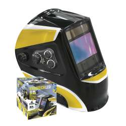 Masque de soudeur LCD ERGOTECH 5-9/9-13 BLACK GYS 045477