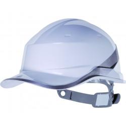 Casque de chantier Baseball blanc DELTAPLUS Diamond V