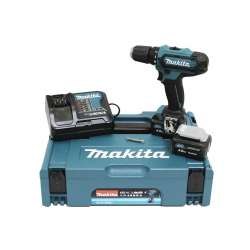 Perceuse visseuse MAKITA DF331DSMJ 10,8V Li-Ion (2x4Ah) CXT Ø 10mm