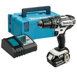 Perceuse Visseuse à percussion MAKITA DHP482RM1J 18 V Li-Ion 4Ah Ø 13mm