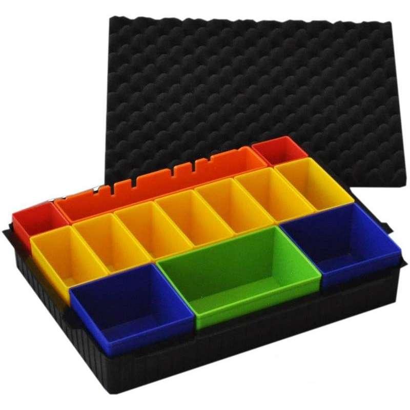 module de rangement avec inlay pour coffret makpac makita. Black Bedroom Furniture Sets. Home Design Ideas