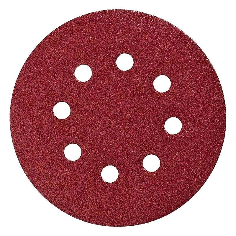 disque abrasif makita 125mm red auto agrippant avec 8 trous rac. Black Bedroom Furniture Sets. Home Design Ideas