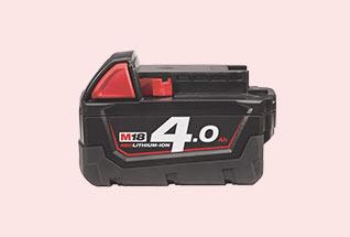 Batteries Milwaukee