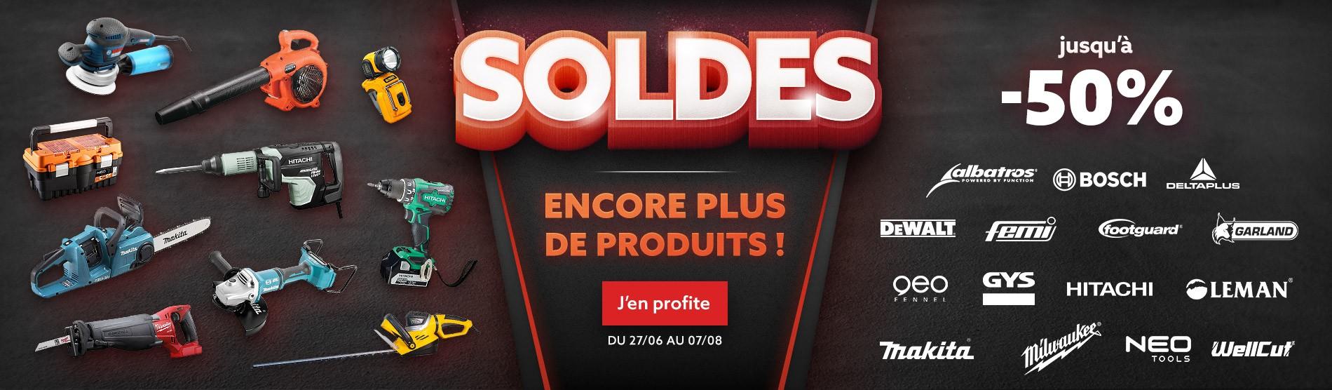 Soldes - Encore plus de produits !