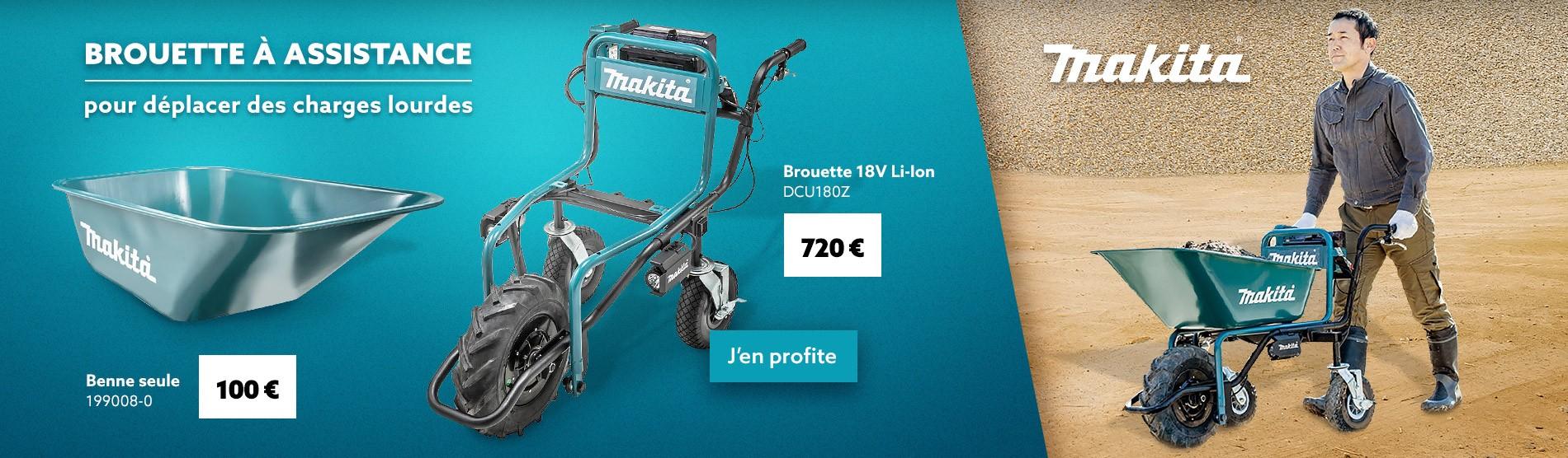 Brouette MAKITA DCU180Z 18V Li-Ion