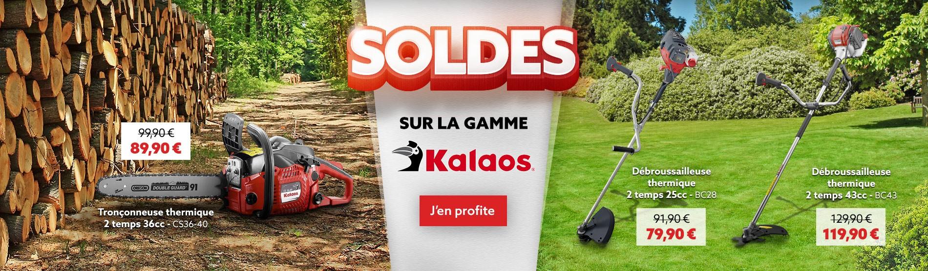 Soldes sur la gamme Kalaos
