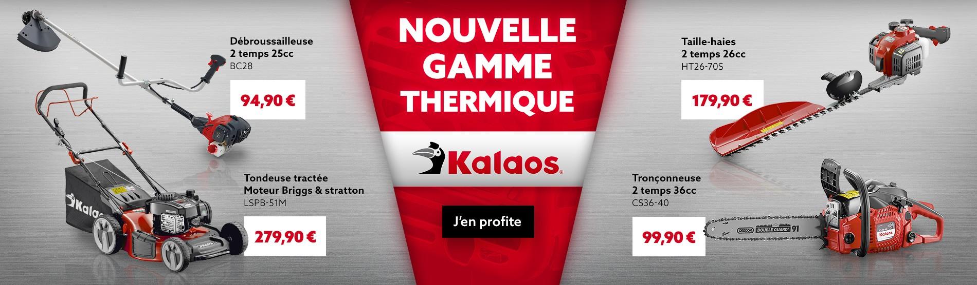 Nouvelle gamme thermique KALAOS