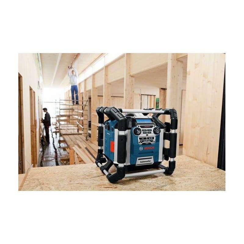 radio de chantier chargeur bosch pro gml 50. Black Bedroom Furniture Sets. Home Design Ideas