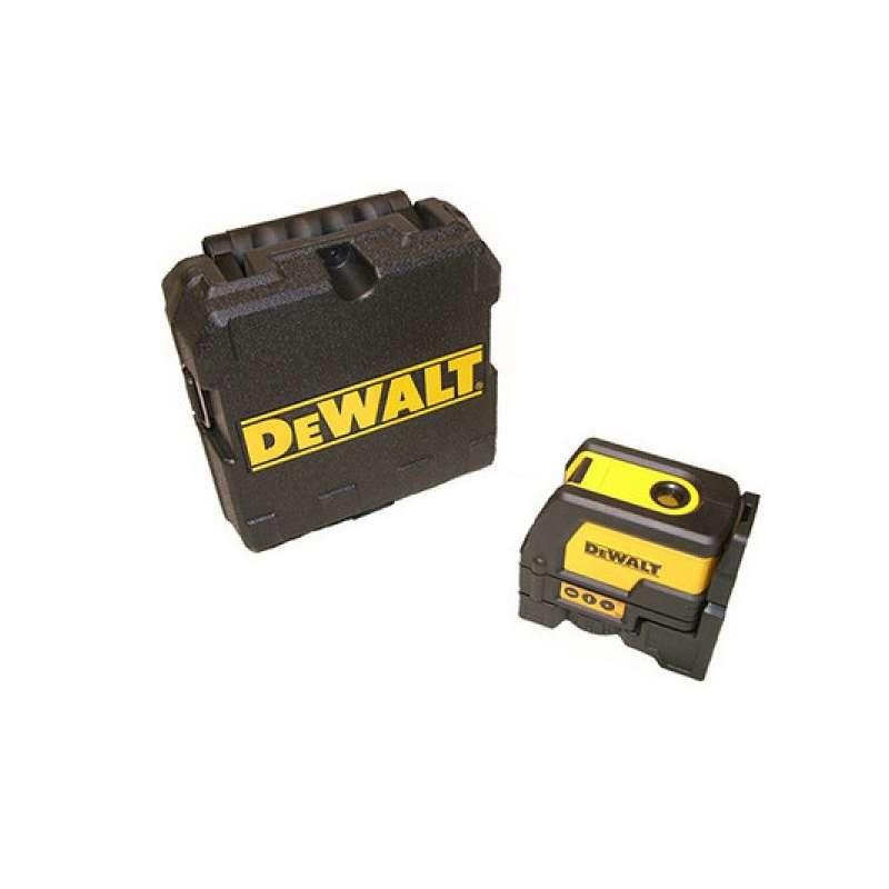 Combin laser en croix fil plomb dewalt dw0822 xj for Fil a plomb laser stanley