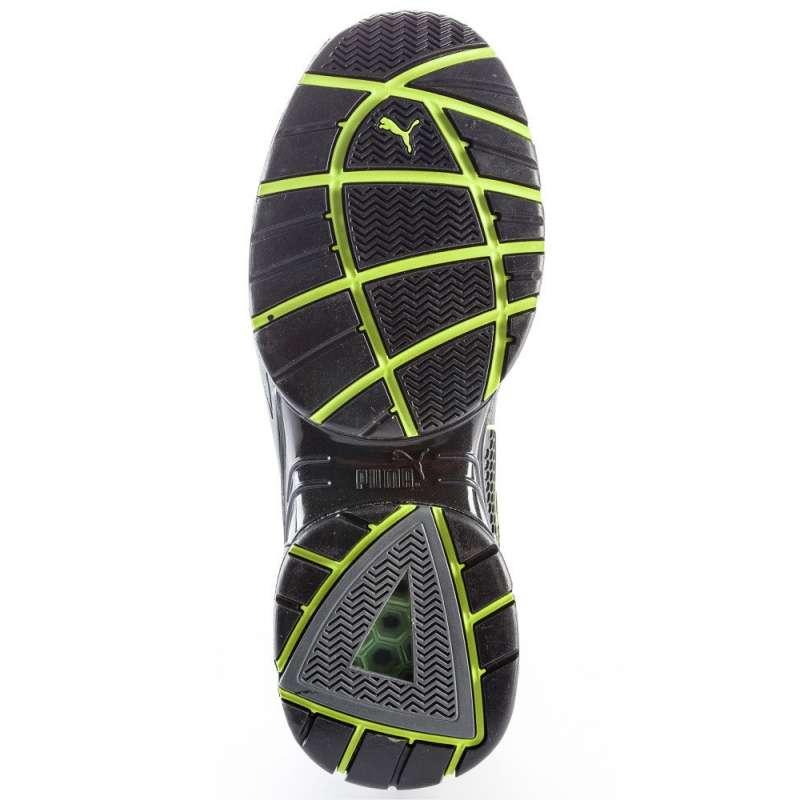 chaussure de s curit basse puma motion protect fuse motion low s1p hro sra verte. Black Bedroom Furniture Sets. Home Design Ideas