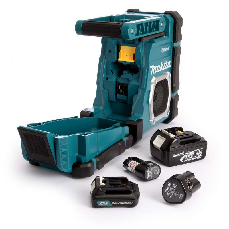 Radio de chantier makita dmr108 7 2 18 v li ion machine - Radio de chantier makita ...