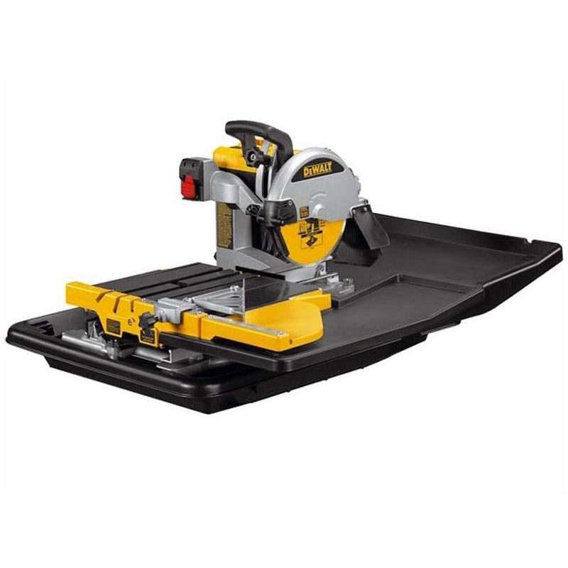 scie carrelage dewalt d24000s 250mm avec pi tement. Black Bedroom Furniture Sets. Home Design Ideas