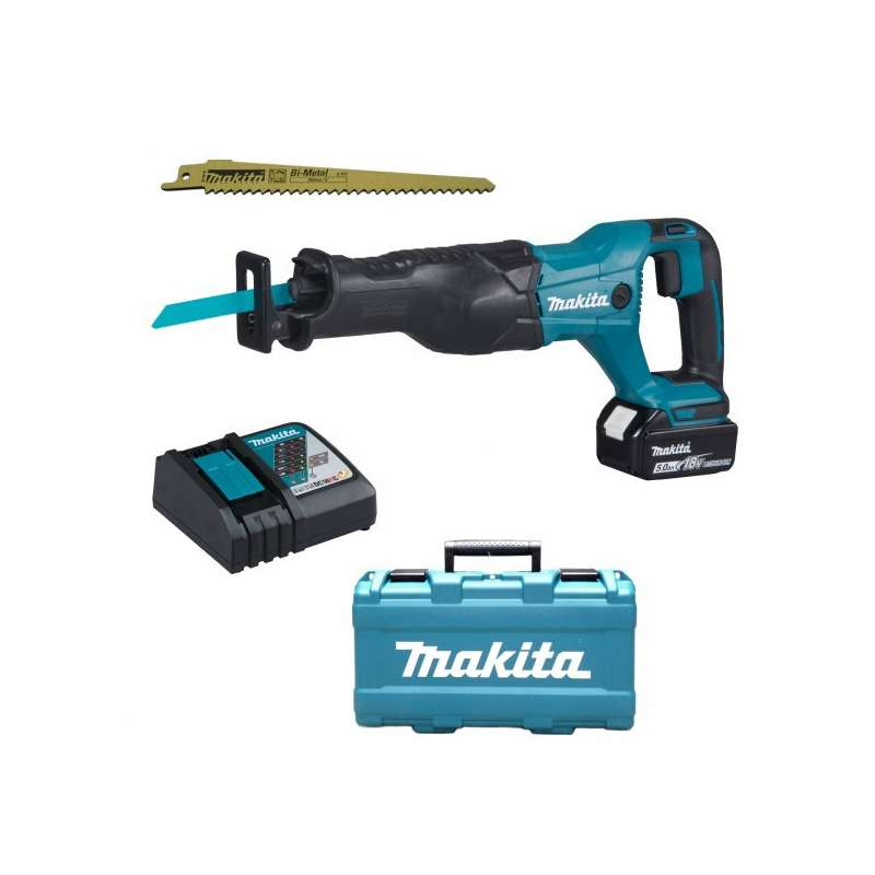 scie sabre makita djr186rt 18 v li ion 1x5ah racetools. Black Bedroom Furniture Sets. Home Design Ideas
